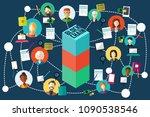 a vector illustration of... | Shutterstock .eps vector #1090538546
