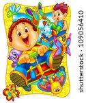 cute cartoons | Shutterstock . vector #109056410