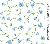 vector seamless pattern with... | Shutterstock .eps vector #1090564136