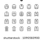 clothes ui pixel perfect well... | Shutterstock .eps vector #1090583900