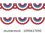 round bunting decoration  for... | Shutterstock .eps vector #1090617050