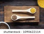 traditional organic vegan... | Shutterstock . vector #1090622114