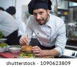 Master Chef Putting Toothpick A - Fine Art prints