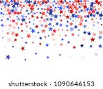 usa independence day stars... | Shutterstock .eps vector #1090646153