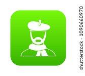 artist icon digital green for... | Shutterstock .eps vector #1090660970