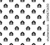 horse barn pattern vector... | Shutterstock .eps vector #1090671650