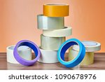 transparent duct tape for... | Shutterstock . vector #1090678976