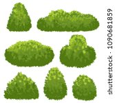 nature hedge  garden green... | Shutterstock .eps vector #1090681859