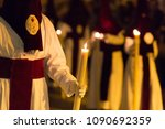Marchena, SEVILLE, SPAIN - March 28, 2018: Procession of Holy Week(