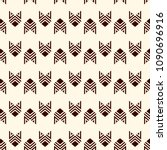 seamless pattern with arrow...   Shutterstock .eps vector #1090696916