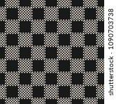 vector geometric checkered... | Shutterstock .eps vector #1090703738