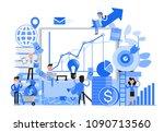 people character vector design. ... | Shutterstock .eps vector #1090713560