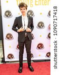 Small photo of Seth Lee attends 3rd Annual Young Entertainer Awards at Globe Theatre, Universal City, CA on April 15th, 2018