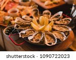 catering banquet table at... | Shutterstock . vector #1090722023