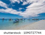 bohol  philippines may 24 2018  ...   Shutterstock . vector #1090727744