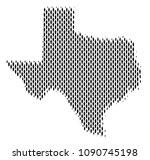 demography texas map people.... | Shutterstock .eps vector #1090745198