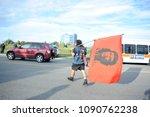mississauga august 25 an... | Shutterstock . vector #1090762238