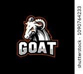 goat sport logo | Shutterstock .eps vector #1090764233
