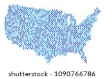 population usa map. demography... | Shutterstock .eps vector #1090766786