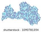 population latvia map....   Shutterstock .eps vector #1090781354