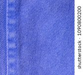 blue textile texture as... | Shutterstock . vector #1090800200