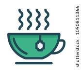 cup mug tea  | Shutterstock .eps vector #1090811366