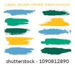 scribble label brush stroke... | Shutterstock .eps vector #1090812890