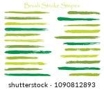 simple ink green jade brush... | Shutterstock .eps vector #1090812893