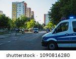 rostock  germany   may 14  2018 ... | Shutterstock . vector #1090816280