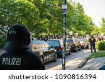 rostock  germany   may 14  2018 ... | Shutterstock . vector #1090816394