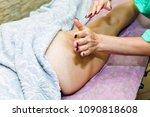 anti cellulite massage for... | Shutterstock . vector #1090818608