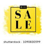 vector modern gradient sale...   Shutterstock .eps vector #1090830599