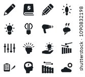 set of simple vector isolated... | Shutterstock .eps vector #1090832198