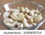 a handful of cashew nuts | Shutterstock . vector #1090850714