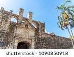 castle of fort san pedro in...   Shutterstock . vector #1090850918