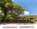 castle of fort san pedro in...   Shutterstock . vector #1090850924