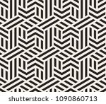 vector seamless pattern with... | Shutterstock .eps vector #1090860713