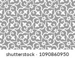 vintage abstract floral... | Shutterstock .eps vector #1090860950