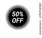 50  off  vector illustration | Shutterstock .eps vector #1090918580