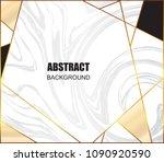 modern marble banner.minimal... | Shutterstock .eps vector #1090920590