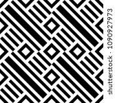 diagonal lines  rhombuses... | Shutterstock .eps vector #1090927973