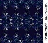polka dot seamless pattern. the ... | Shutterstock .eps vector #1090932386