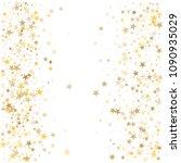 gold stars background ... | Shutterstock .eps vector #1090935029