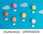 Colorful Macaroons  Sugar Cubes ...