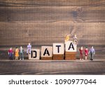gdpr. general data protection... | Shutterstock . vector #1090977044