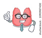 businessman thyroid character... | Shutterstock .eps vector #1090987430