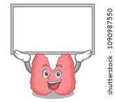 up board thyroid character... | Shutterstock .eps vector #1090987550