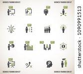 business training. vector... | Shutterstock .eps vector #1090991513