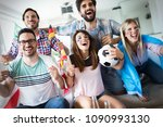 group of multi ethnic people... | Shutterstock . vector #1090993130
