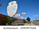 tucumcari  new mexico   july 21 ... | Shutterstock . vector #1090997648